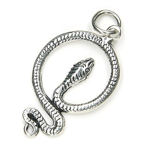 Schlangen Schmuck Anhänger 925er Silber