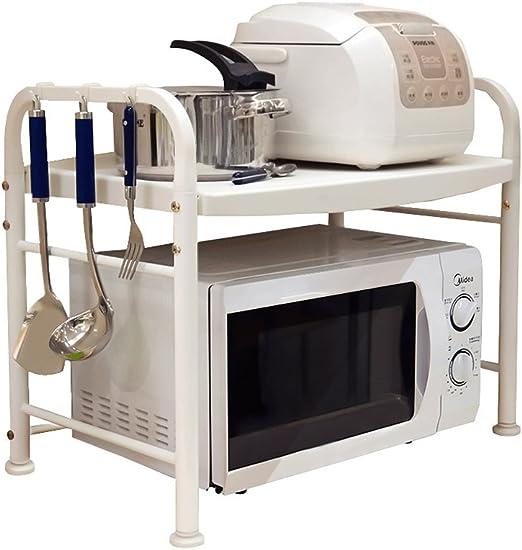 ZH Estante de microondas para Cocina, encimera de Doble Cara ...