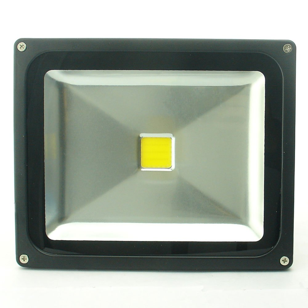 QUANS 30W Watt Warm White 12V 24V AC DC Ultra Bright LED Security Wash Flood Light Floodlight Lamp High Power Black Case Waterproof IP65 Work in The Rain Superbright 3000K, 12-24V Input Low Voltage by QUANS (Image #2)