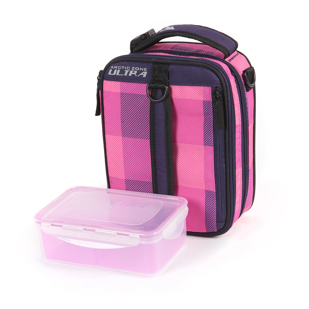 Arctic Zone High Performance Expandable Lunch Pack Pink Purple  # Kohl Muebles Farmacia
