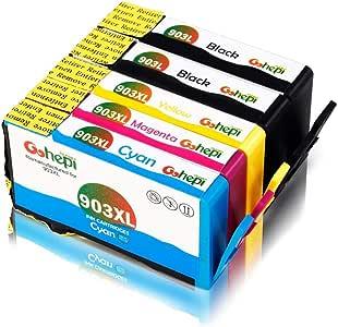 Gohepi 903XL Compatible para Cartuchos de tinta HP 903XL 903 HP ...