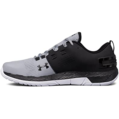 black and silver under armour shoes