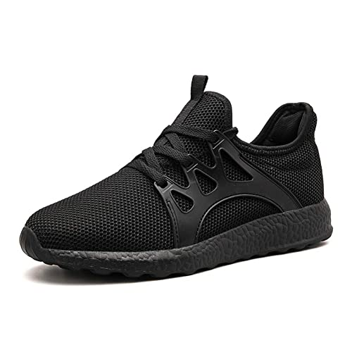 4f2083ef03e77 Leader Show Men s Lace Up Casual Breathable Gym Shoes Athletic Training Running  Sneakers (6.5,