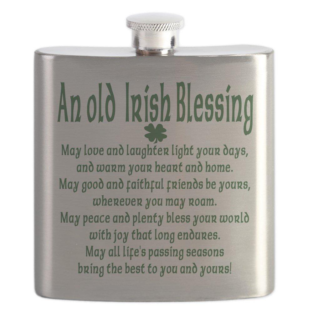 最も優遇 CafePress - An Irish Old CafePress Irish Flask Blessing.Png - Stainless Steel Flask, 6oz Drinking Flask by CafePress B01IUEU4SA, アップスイング:e0ce0bc2 --- importexportdigital.com