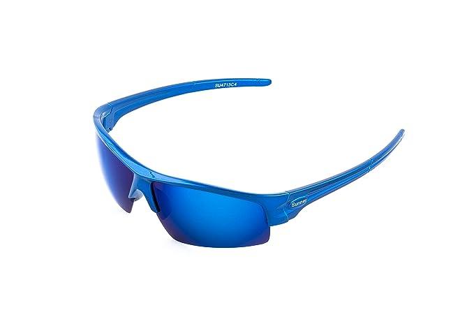 Sunner Gafas de Sol Deportivas Para Hombre y Mujer SUS4713 Protección UV400 Lentes Polarizadas Montura Ligera