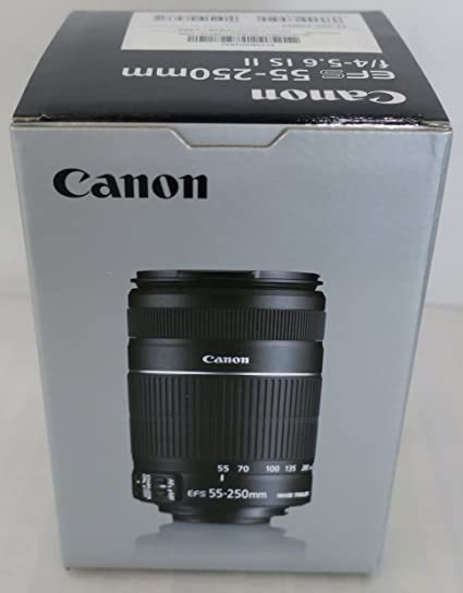 Canon Ef S 55 250mm 4 0 5 6 Is Ii Objektiv Für Eos Kamera