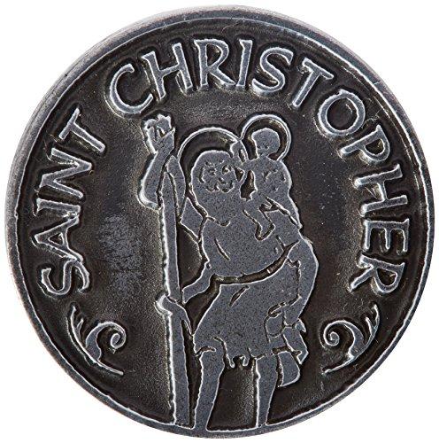 Cathedral Art PT411 Saint Christopher Pocket Token, 1-Inch