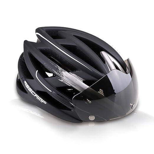 17 opinioni per Base Camp Mountain Road Bike bicicletta casco da ciclismo con magnetica