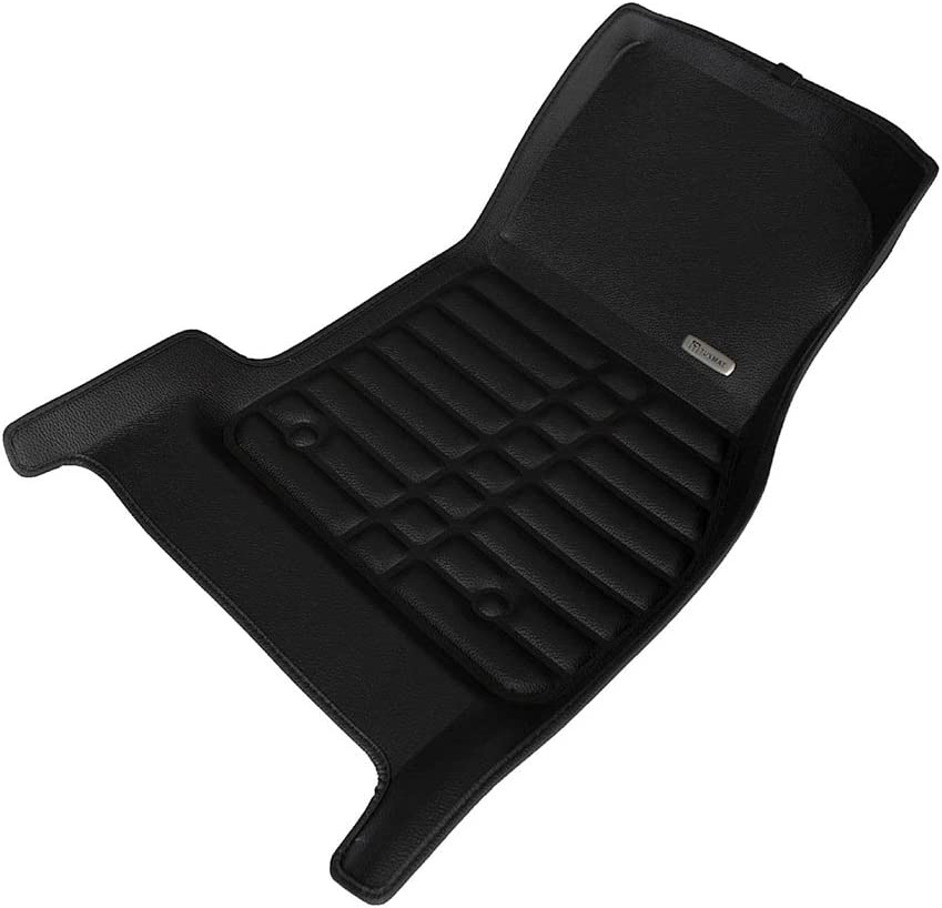 Largest Coverage The Ultimate Winter Mats Waterproof All Weather Full Set - Black TuxMat Custom Car Floor Mats for Mini Clubman 2016-2020 Models Laser Measured