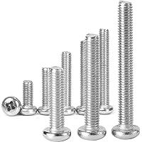 SENDILI Phillips Schroef - 304 Roestvrijstalen Pan Machineschroeven Voor Het Bevestigen Van Componenten, Industriële en…