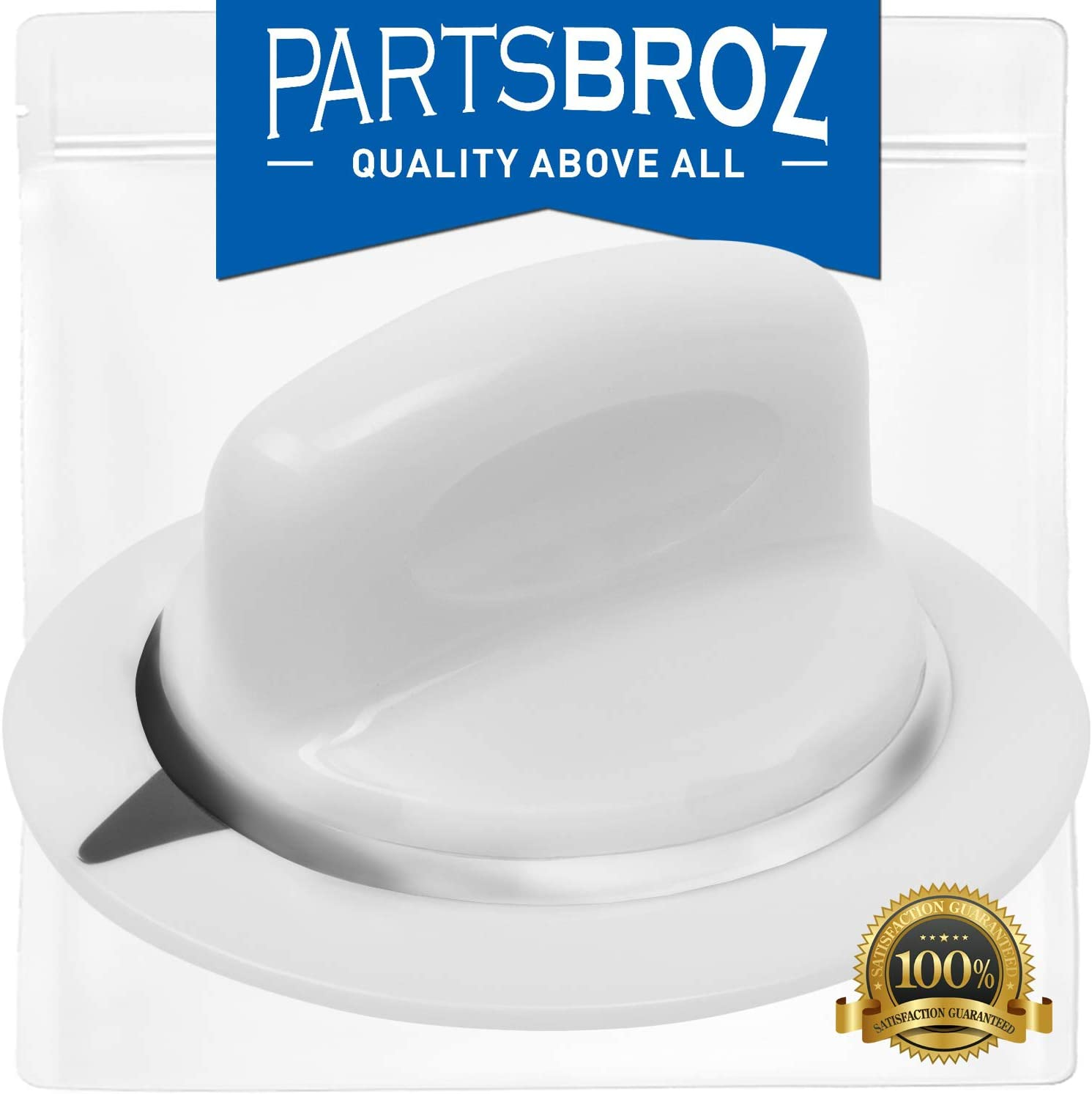 WE01X20374 Timer Knob for GE Dryers by PartsBroz - Replaces Part Numbers AP5805160, WE1M856, 3276177, PS8769912, WE1M589