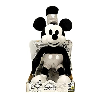 Disney Mickey's 90th 10 Inch Steamboat Willy: Toys & Games