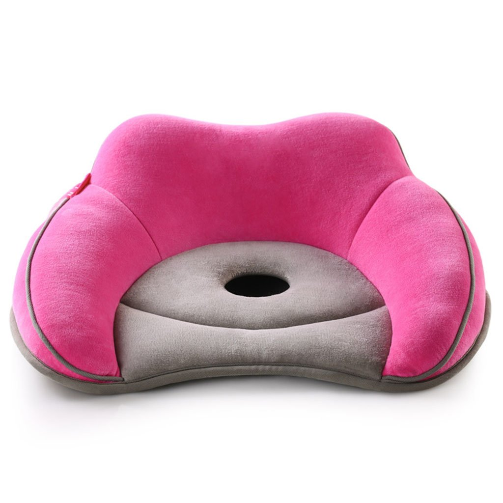 Cushions Beautiful Buttocks Cushion for Office Maternity Cushion Hemorrhoids pad Student Butt pad Breathable Cushion Furniture Accessories (Color : Pink, Size : 393615cm/15146inch)
