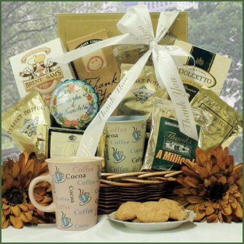 Caddy of Coffee and Delicacies by GiftBasket from Gift Basket
