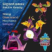 Shiny Gigantamax Charizard, Gengar, Machamp for Sword and Shield