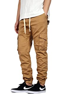 47a04a52c1c Amazon.com: Southpole Men's Jogger Pants Washed Ripstop Fabric with ...