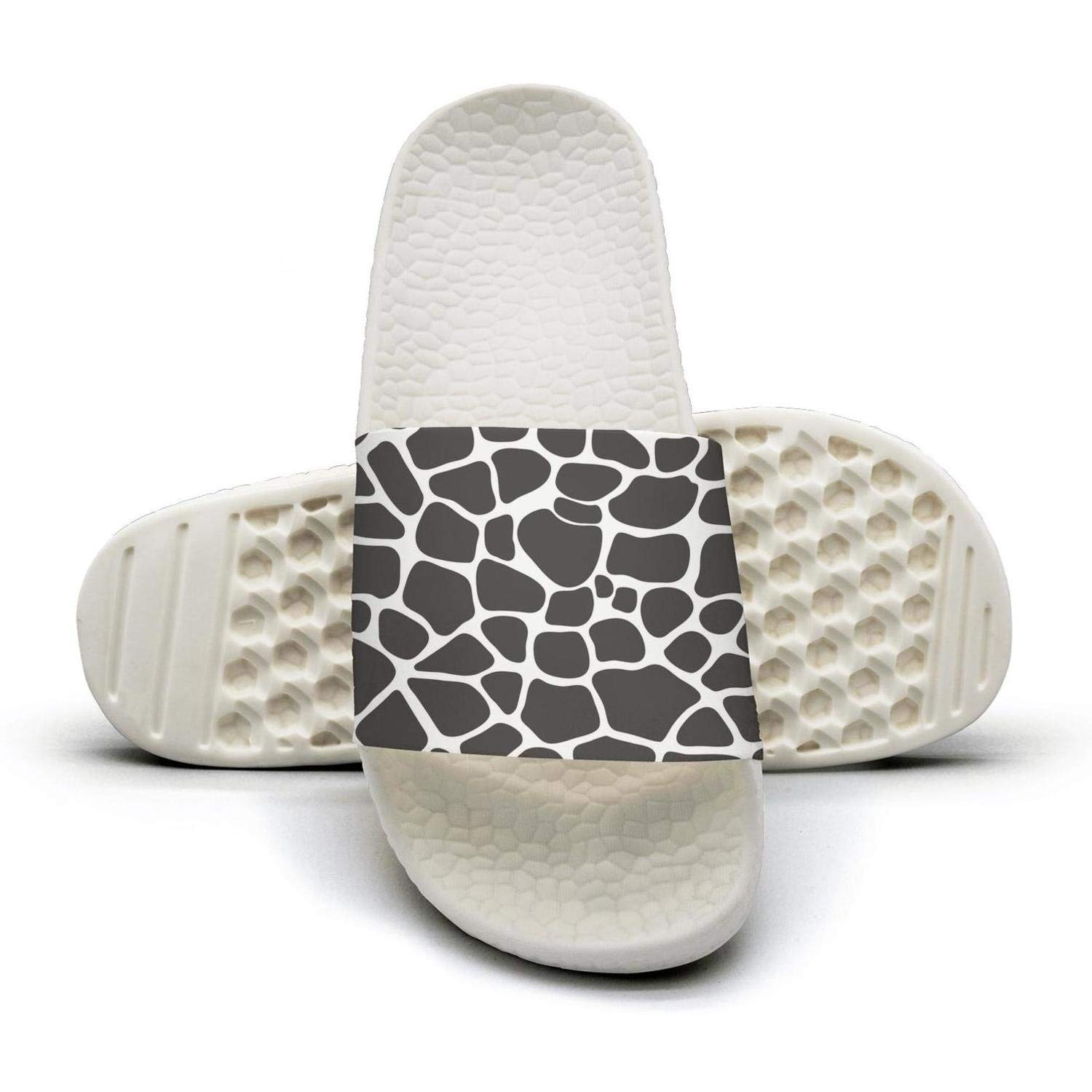665e648bab286 Amazon.com  DONVE Man s Giraffe Party Time Flip Flop for Mens Customize  Slide Water Shoes  Sports   Outdoors