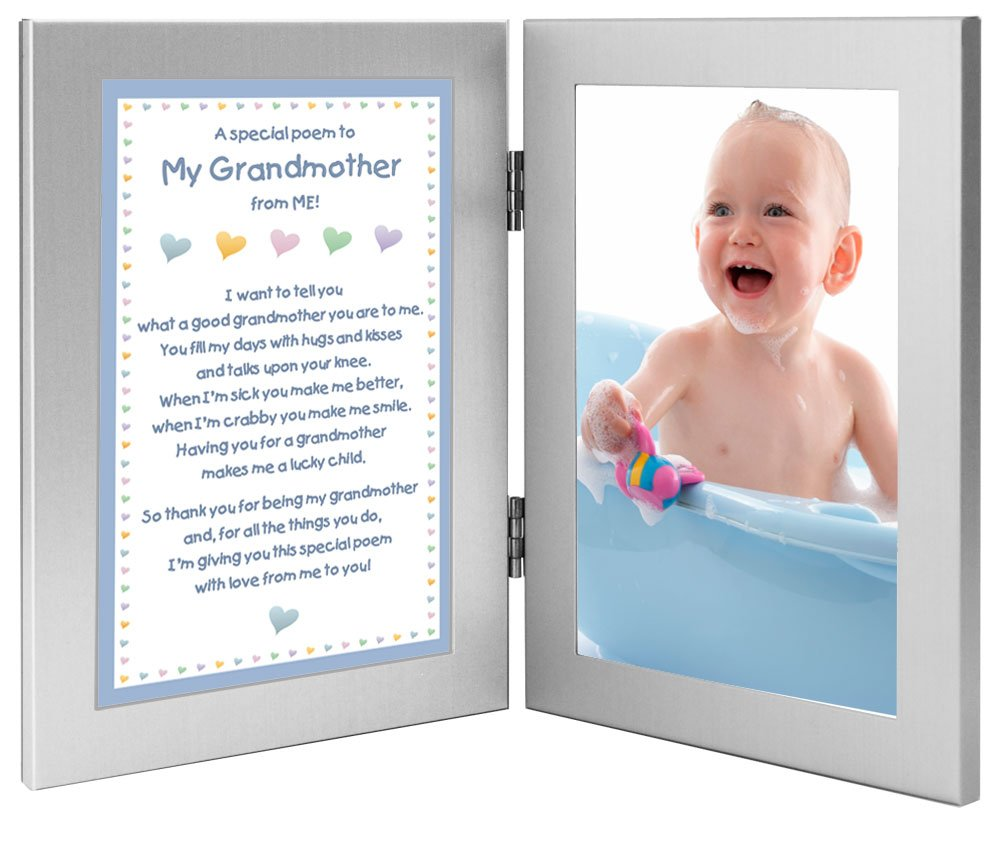 Gift for My Grandmother from ME, Sweet Poem from Grandson, Add Photo Poetry Gifts poetrygifts-70-052