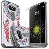 LG G5 Case, Starshop [Shock Absorption] Dual Layers Impact Advanced Protective Phone Cover With [Premium HD Screen Protector Included] For LG G5 (Dream Catcher)