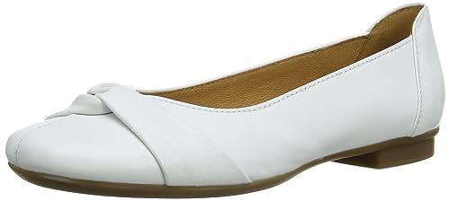 Gabor Frost L - Zapatos para mujer, Blanco, 38.5