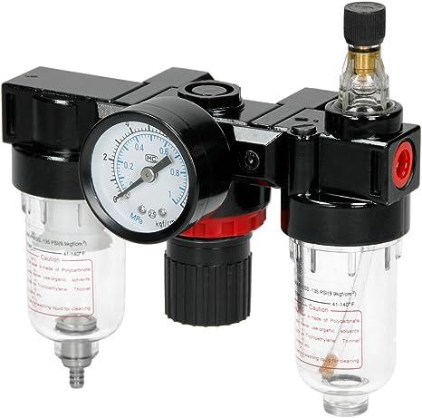 ECD Germany Separador de Agua para Compresor 1/4