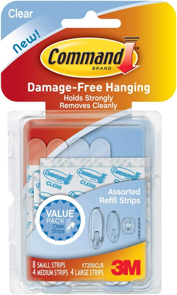 Home Kitchen Organizer Re-Hang Indoor  strong Hooks Command  Strips