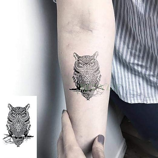 5pCS-Impermeable Etiqueta engomada del Tatuaje Temporal Lindo ...