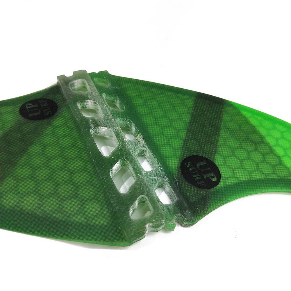 UPSURF Surfboard fins k2.1 5fins Future Surfing fins Honeycomb Choose Color