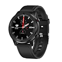 Popglory Smart Watch, IP68 Waterproof Fitness Tracker with Heart Rate Monitor, Activity...
