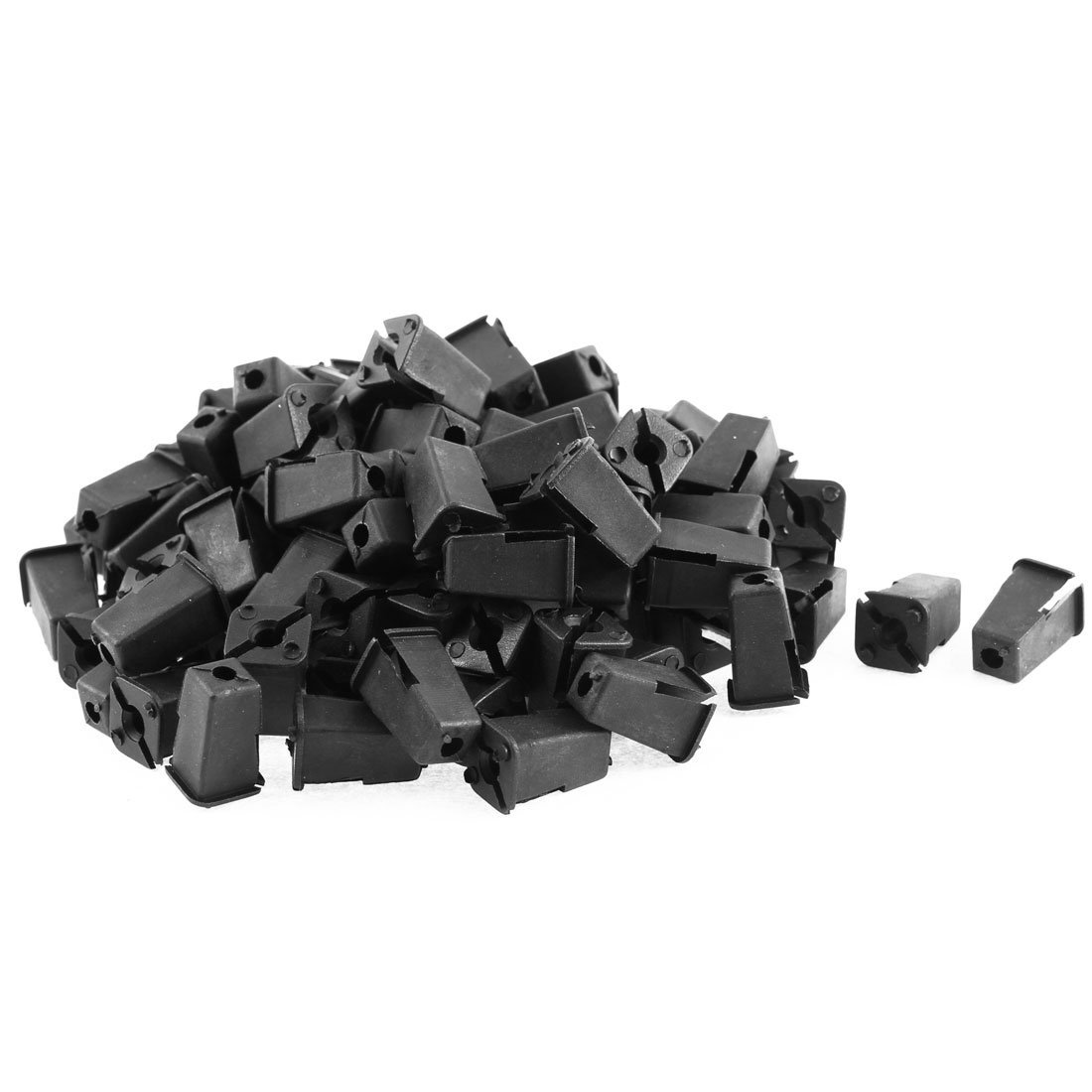 100 pezzi in plastica interno modanatura rivetti fermo DealMux