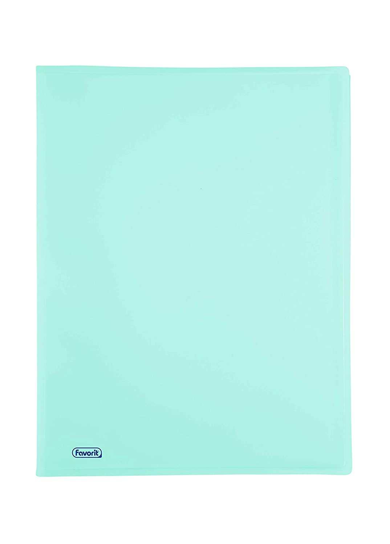 colore glicine pastello Formato Interno 22x30 cm Favorit 400116622 Portalistino P@STEL con 40 Buste Lisce