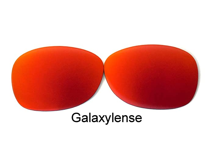 e0b5486e03f Amazon.com  Replacement Lenses For Ray-Ban RB2132 New Wayfarer Red 55 mm  Polarized  Clothing