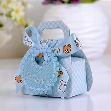 Amazon.com: JEWH – Caja de regalo de papel con forma de oso ...