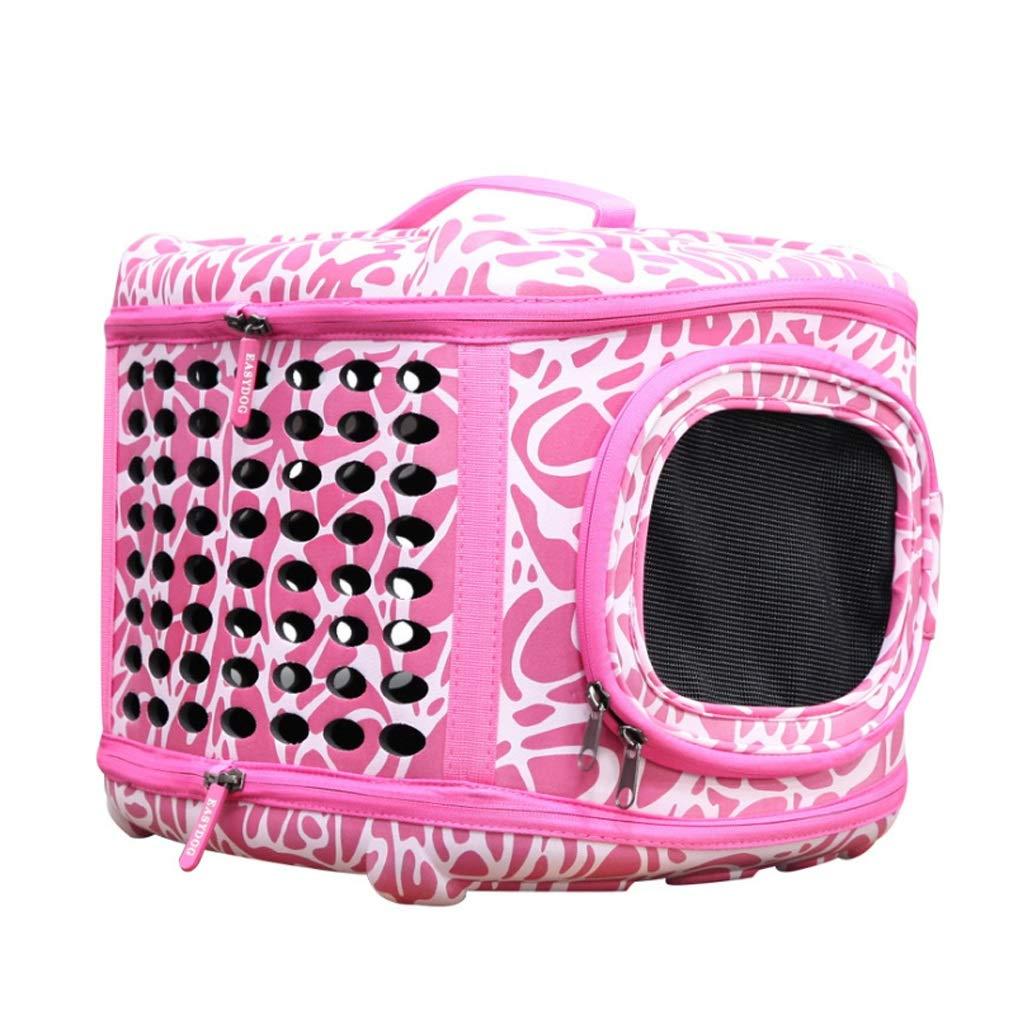 GWM Pet Backpacks Pet Supplies EVA Outdoor Backpack Portable Hard Deformation, Travel Bag Cat Dog Breathable 45cm35cm33cm