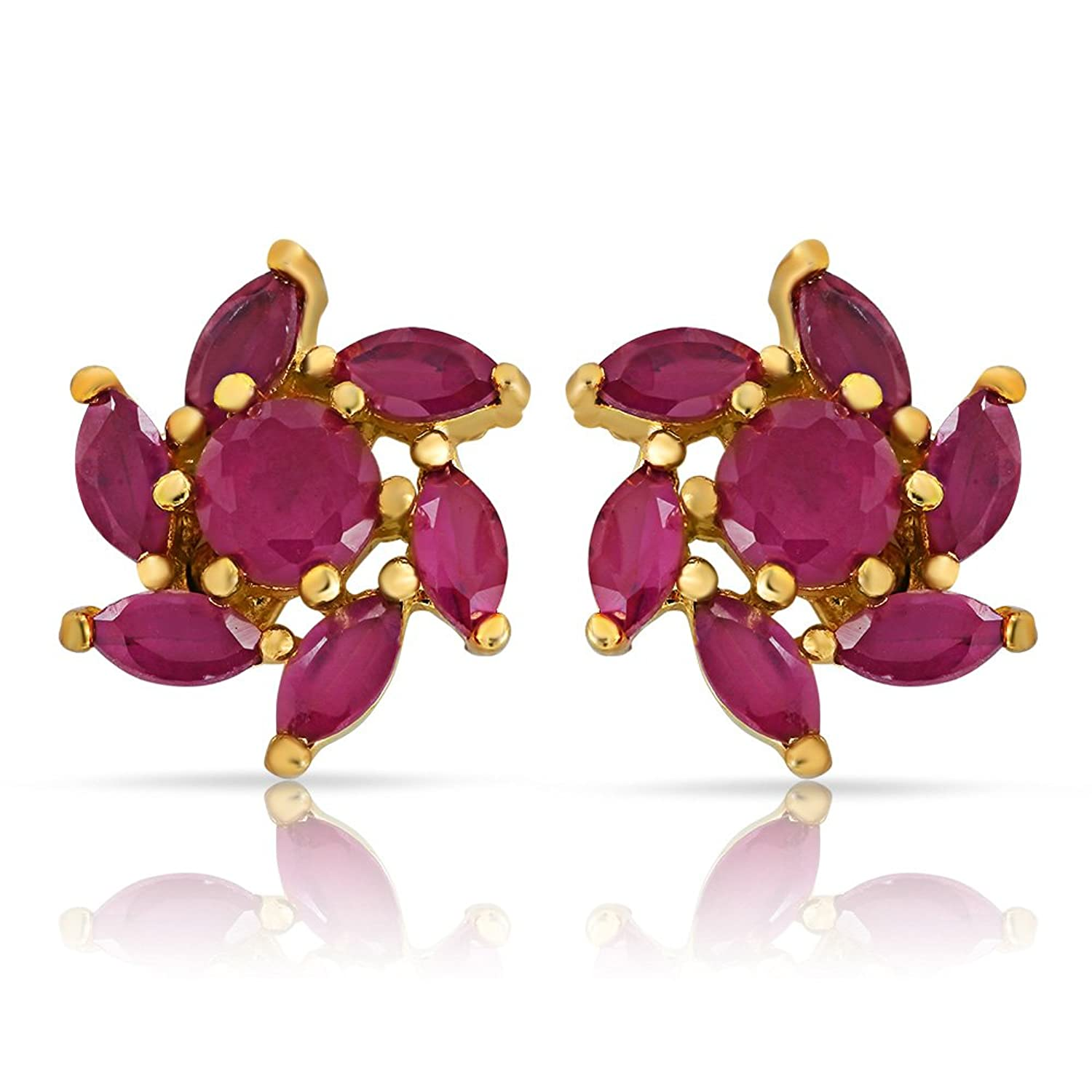 shape ruby earrings jewellery aj pear jewelry diamond ladies