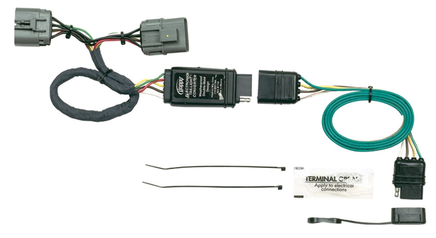 61M9SKIXm7L._SL1500_ amazon com hopkins 43505 plug in simple vehicle wiring kit hopkins wire harness at cita.asia