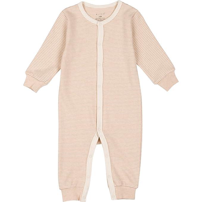 Amazon.com: Niteo bebé algodón orgánico cierre frontal ...