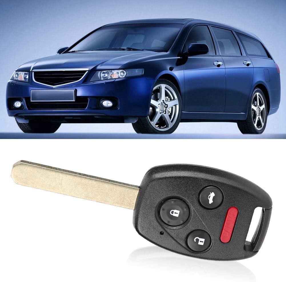 Car Remote Key ID46 Chip 313.8MHZ Fit for Honda Accord 2003-2007 Car Entry Remote Control Key Fob 4 Button Remote Car Key oucg8d-380h-a