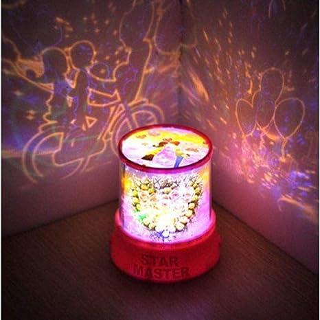 Quanwu - Luz de ambiente para parejas, regalo de San ...