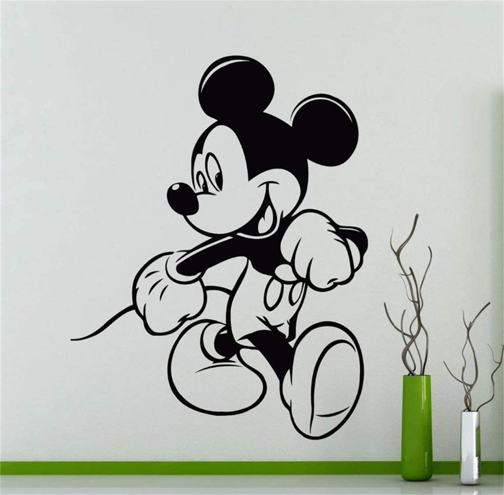 Vinilos De Pared Mickey Mouse Poster Cartoon Decal Inicio para guarder/ía ni/ños dormitorio sala de estar