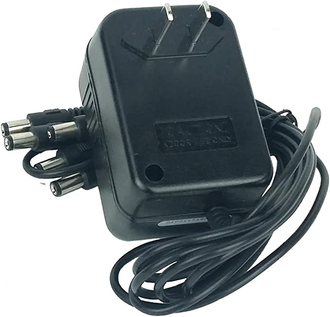 Accel Guitar Effects Power adapter 9V@400mA with 5 Outputs