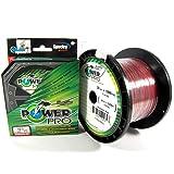 Power Pro Spectra Fiber Braided Fishing Line, Vermilion Red, 1500YD/80LB