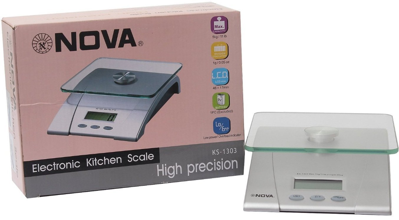 Buy ELECTRONIC KITCHEN SCALE NOVA Online at Low Prices in India ...