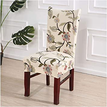 Office Swivel Chair Seat Cover Dining Room Chair Slipcover for Kitchen Banquet