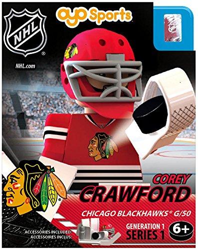 Chicago Blackhawks Goalie (NHL Chicago Blackhawks NHL Generation 1 Series 1 Minifigure Corey Crawford)