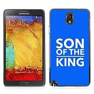 Paccase / Dura PC Caso Funda Carcasa de Protección para - BIBLE Son Of The King - Samsung Note 3 N9000 N9002 N9005