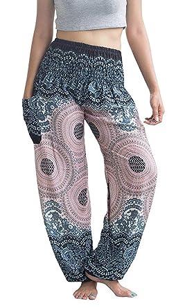 4408f2f3e00 Lanna Thai Harem Trousers Harem Pants - Yoga