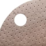 New Pig Oil-Only Barrel Top Absorbent Mat, For