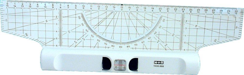 M + R 715300000Roll righello 30cm acrylgals goniometro lente d' ingrandimento 1530 - 0000