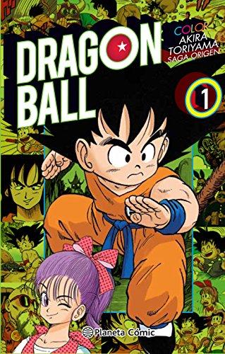 Dragon Ball, Color origen y Red Ribbon 1